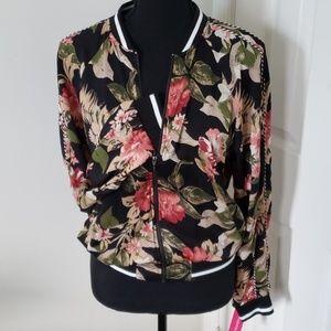 *New* Floral Track Jacket
